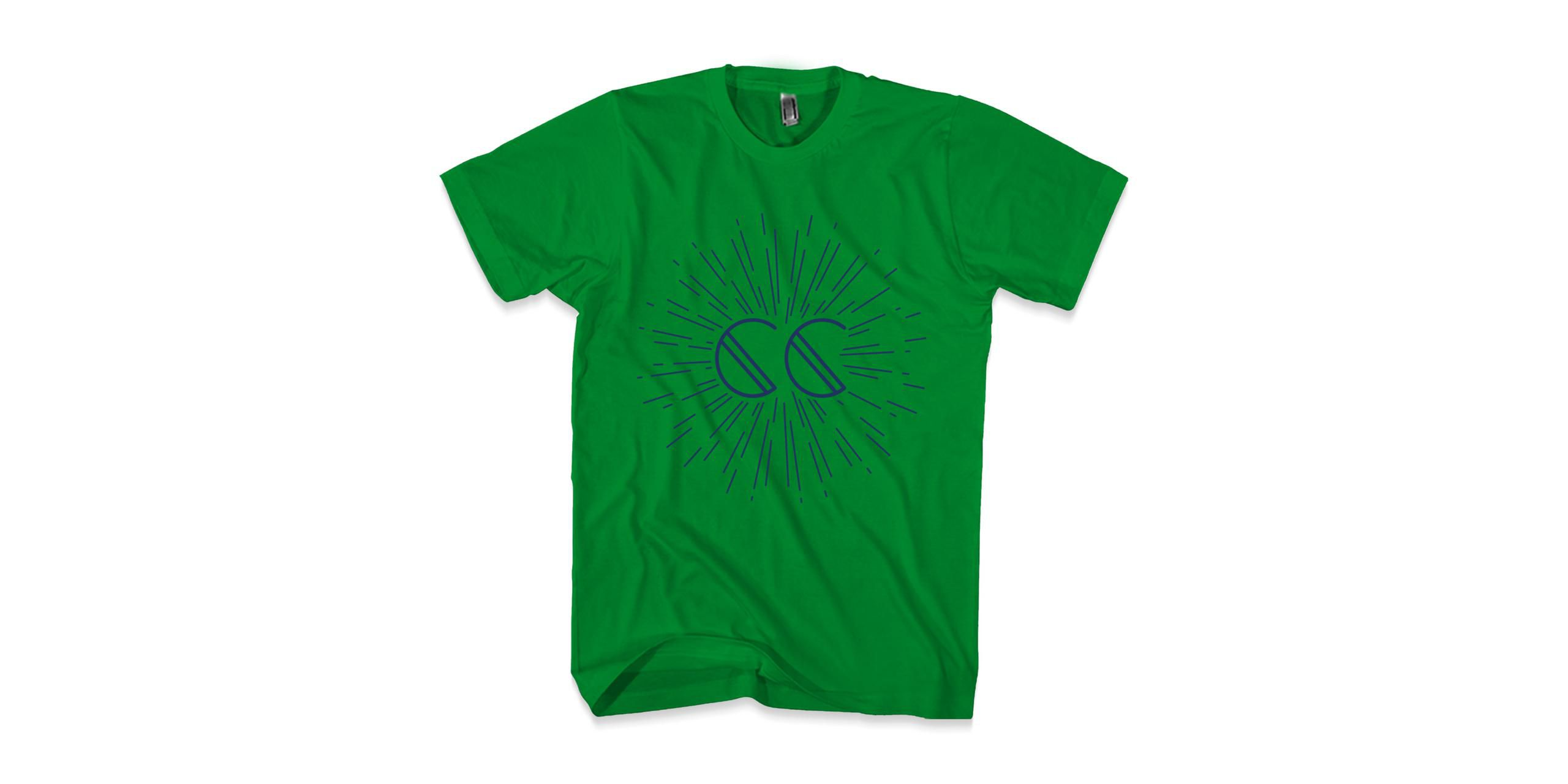 Canyon City Firework Green T-shirt